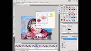 Урок анимация глаз в PhotoShop,при перемещение (часть 2)