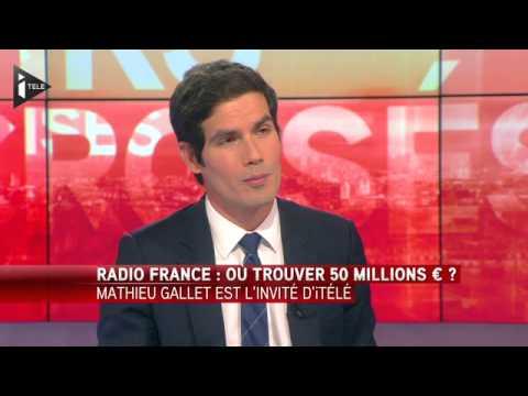 """Mathieu Gallet """"si rien n'est fait, Radio France ne passera pas l'été"""""""