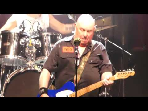 999 live at the Ritz Manchester 03 June 2017