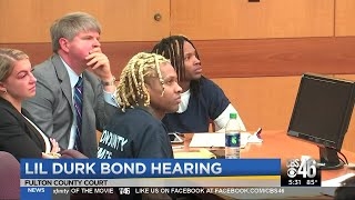 Lil Durk to bond out of Atlanta jail