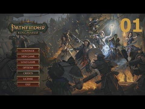Let's Play Pathfinder: Kingmaker (Beta) - Ep. 01