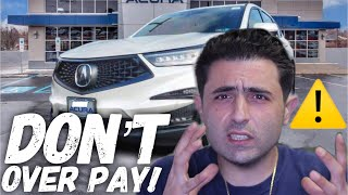 NEW 2019 ACURA RDX Negotiation Tips. (Lease Deals, Purchase Price, Promo APR and Discounts)