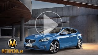 2014 Volvo V40 review - تجربة فولفو في 40 - Dubai UAE Car Review by Motopedia.ae