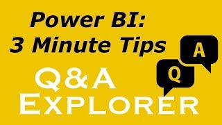 Power BI - Q&A Explorer