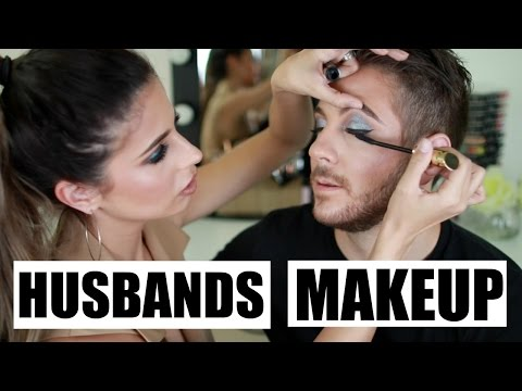 I Do My Husbands Makeup | Laura Lee