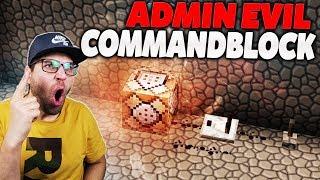 COMMANDBLÖCKE VON ADMINEVIL GEFUNDEN!! 😡 (command hacks)