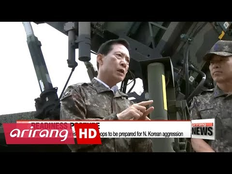 S. Korean Defense Minister orders readiness posture to be maintained