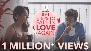 5 + 1 Steps To Fall In Love (Again) | Ft. Apoorva Arora & Rishab Chadha | Flick | The Zoom Studios