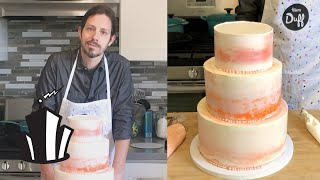 Cake School: How To Stack A Tiered Cake