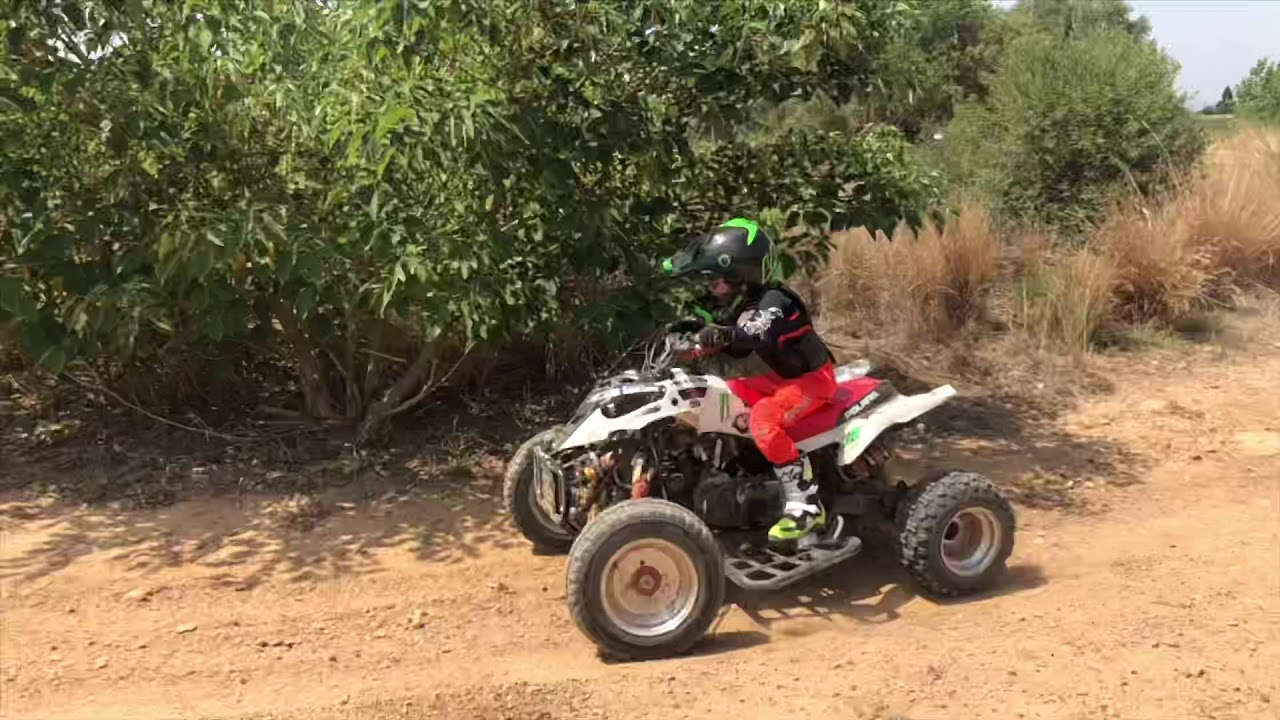 Ride    Polaris Predator 90 Antton Bouchard 6yo Youth Atv