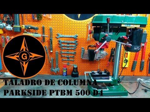 #TALADRO DE #COLUMNA #PARKSIDE PTBM 500 D4 de #LIDL GINESSOT