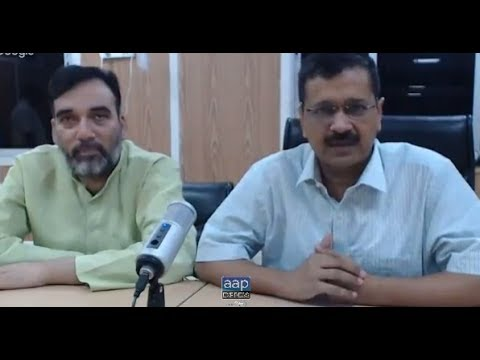 Delhi CM Arvind Kejriwal Google Hangout with volunteers of all 70 Delhi Assemblies