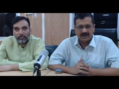 Delhi CM Arvind Kejriwal Google Hangout with volunteers of all 70 Delhi Assemblies