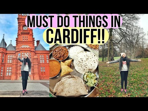 Must Do Things In CARDIFF!! Vegan Food, Activities And Much More!