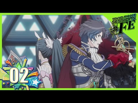 Tokyo Mirage Sessions #FE Playthrough Ep 2: Carnage Forms! -Chrom & Caeda-