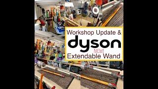 Workshop Update & Dyson V1…
