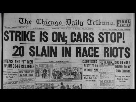 1919 Race Riots in Chicago: A look back 100 years later