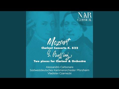 Clarinet Concerto In A Major, K. 622: I. Allegro