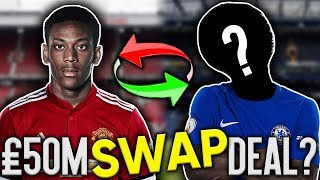 BREAKING: Manchester United To Swap Antony Martial For Chelsea Star Plus Cash?! | Transfer Talk