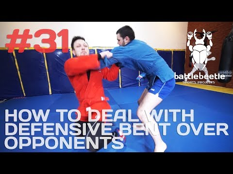 HOW TO DEAL WITH  DEFENSIVE BENT OVER  OPPONENTS - BATTLE BEETLE TUTORIAL # 31
