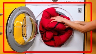 15 life hacks to wash your clothes correctly. Effective laundry tricks!