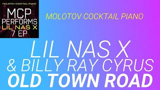 Old Town Road Lil Nas X amp Billy Ray Cyrus cover by Molotov Cocktail Piano