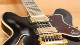Sound Review: Epiphone Sheraton II - Alnico Classic versus Wolfetone Dr. Vintage - Hard Edge Blues