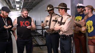 Super Troopers harass SmackDown LIVE Superstars