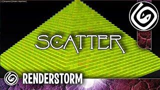 Моделирование пирамиды с помощью Scatter (Урок 3ds max для новичков)
