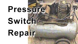 Air Compressor Pressure Switch Repair