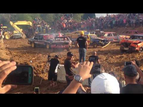Demolition Derby in Moca Puerto Rico
