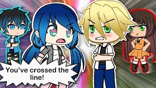 MIRACULOUS LADYBUG AND CHAT NOIR GACHAVERSE SERIES -SIGNS OF ADRIEN's CRUSH PART 13- GACHA LIFE