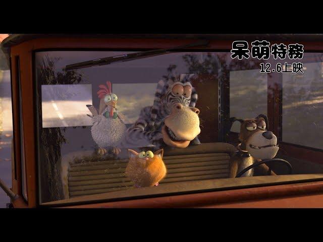 奧斯卡金像獎得主執導《呆萌特務》12/06歡樂上映!