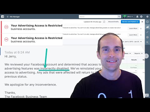 """😀 My Facebook Appeal on """"Your Advertising Access is Restricted"""" Restores Disabled Ad Account! 👏"""