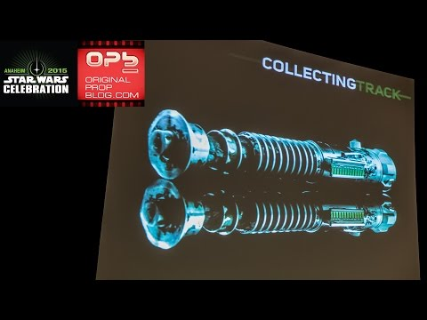 Star Wars Celebration 2015: Original Luke Return of the Jedi Lightsaber Reveal