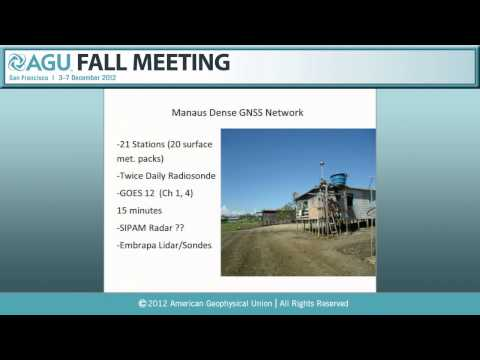 A53S. Climate/Meteorological Applications for GNSS and Relat