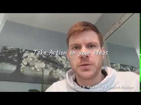 Character Development-  Take Action on your Ideas