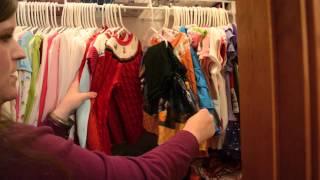 Toddler Closet Organization - Isabella Closet Tour