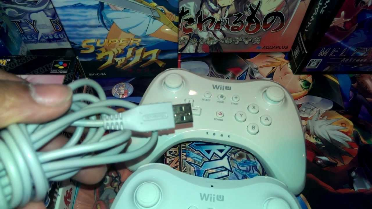 Bootleg Nintendo Wii U Pro Controllers Youtube