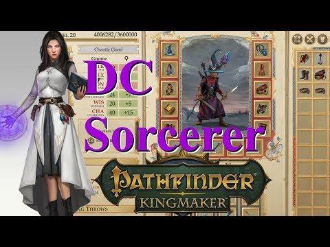 Pathfinder Kingmaker 1.1, DC Sorcerer Build Guide (Reupload)