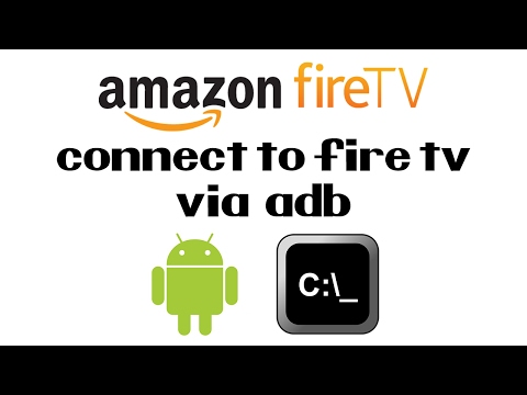 How To Connect To The Amazon Fire TV Stick Via ADB | Install Included