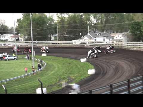 Sprint Invaders Heat 1 Southern Iowa Speedway 5/6/15