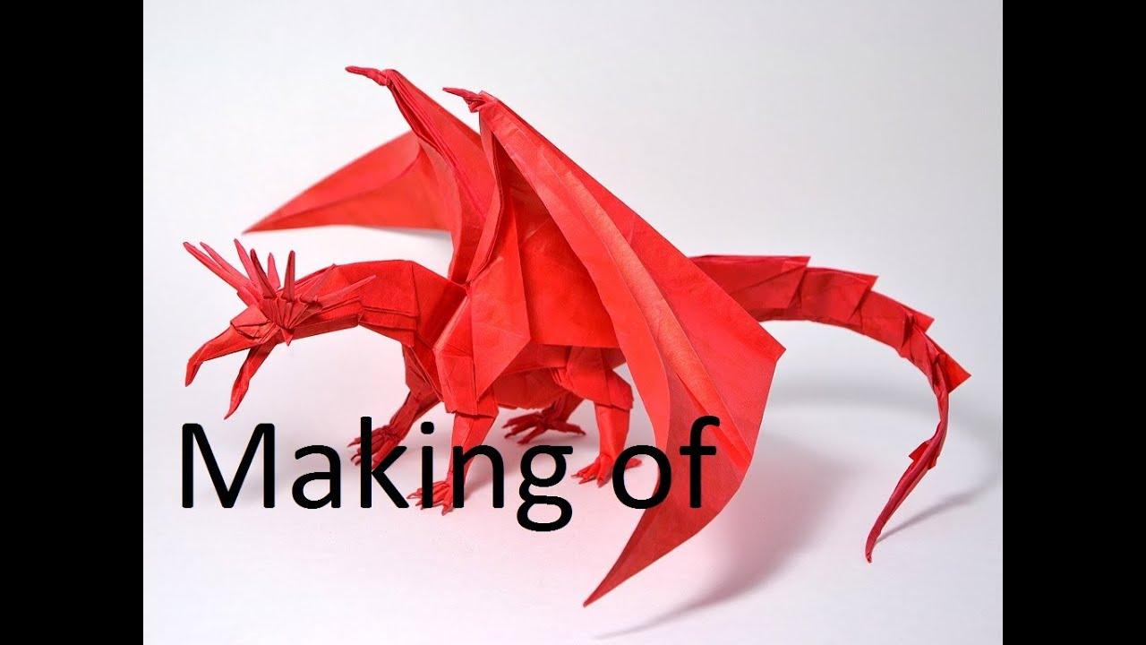 origami dragon facile youtube