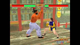 Virtua Fighter 3TB - Gameplay Dreamcast HD 720P