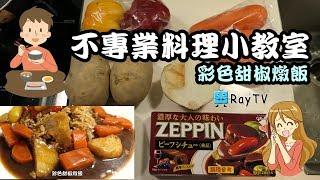 【RayTV】不專業料理小教室※彩色甜椒燉飯