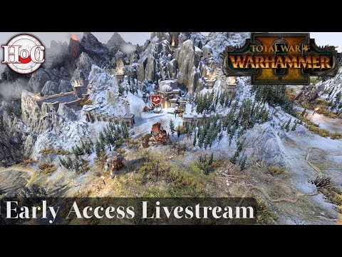 Total War Warhammer 2 - Queen and the Crone Live Stream 2