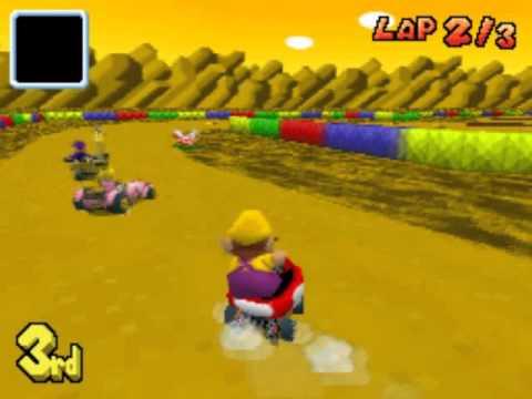 SNES Choco Island 2 - Custom Mario Kart