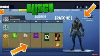 BEUG FOR PALIER 100 ON FORTNITE SAISON 6 A AND PATCH