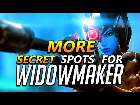 Widowmaker Tips - MORE Secret Spots and Flanks
