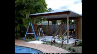 Landscape Brisbane Pergola & Landscape Build Time Lapse